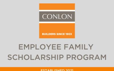 Conlon Employee Family Scholarship Program Established