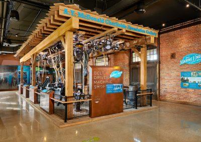 National Mississippi River Museum & Aquarium – River of Innovation Exhibit